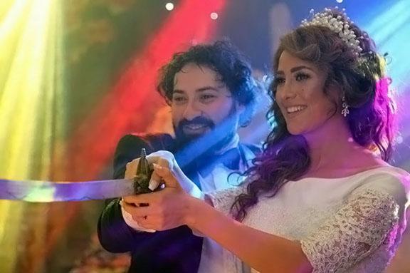 Syrian Star Ola Basha Gets Married