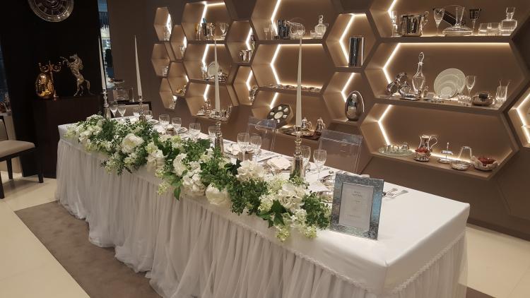 Christofle Launches a Bridal Program in Dubai
