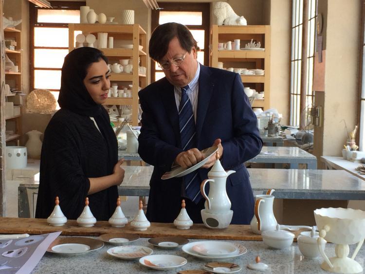 Bernardaud and Sheikha Hind Launch Ramadan Collection Through Tanagra