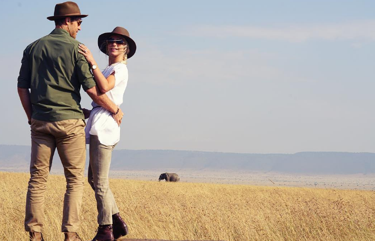 Julianne Hough and Brooks Laich Go On a Magical African Honeymoon