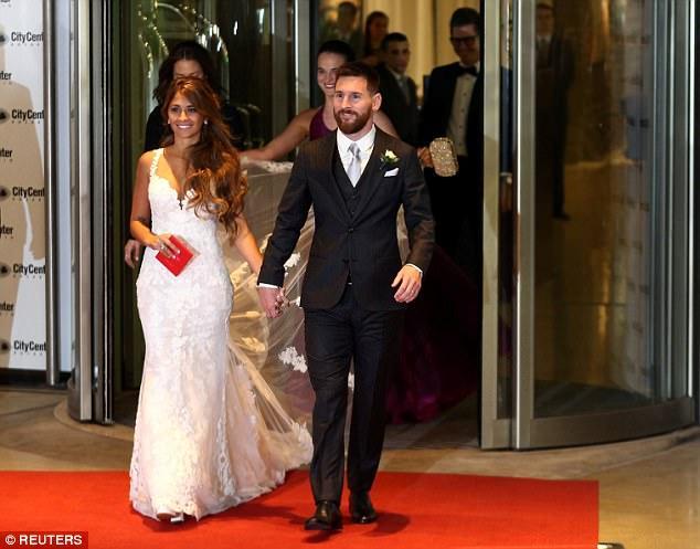 Pictures: Llionel Messi and Antonella Roccuzzo's Wedding