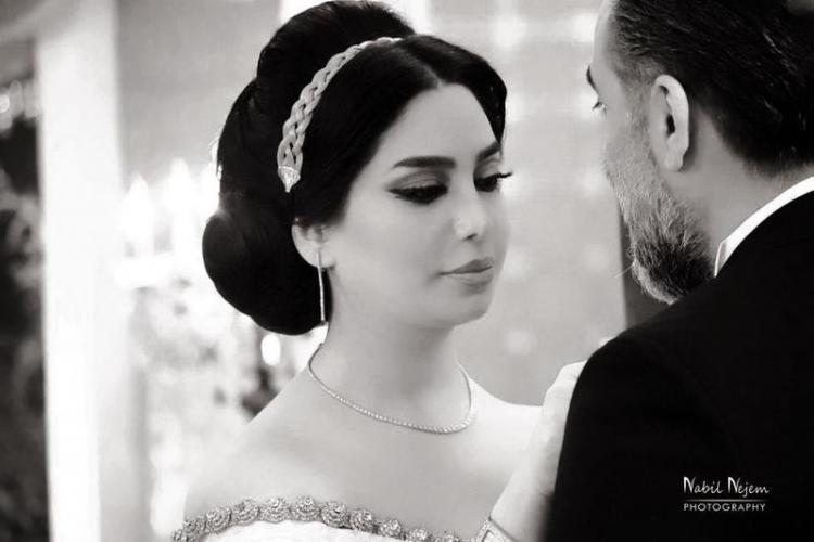 Syrian Star Rana Al Abyad Stuns in Wedding Dress