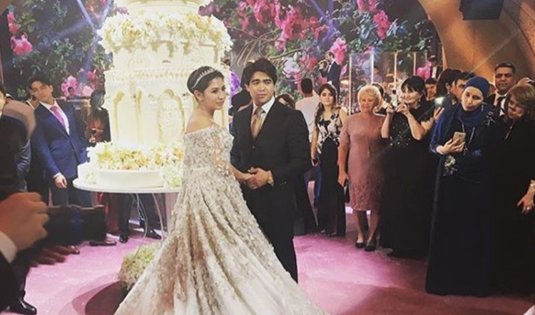 Most Extravagant Wedding Takes Place in Moscow