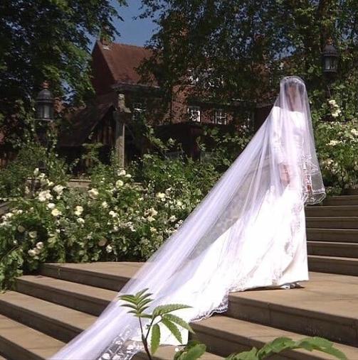 Details on Meghan Markle's Wedding Dresses