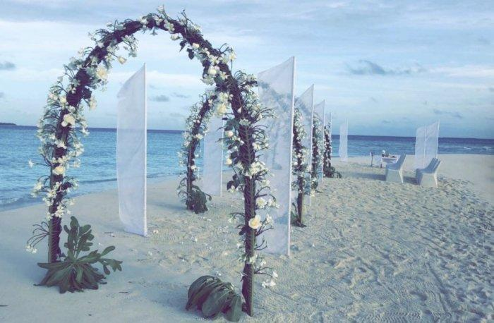 Pictures Sarah Al Wadaani Gets Married In The Maldives
