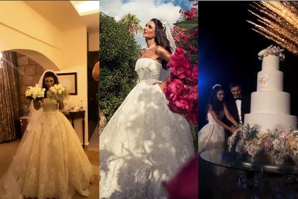 Pictures: Aline Watfa and Khaled Al Mawla's Wedding