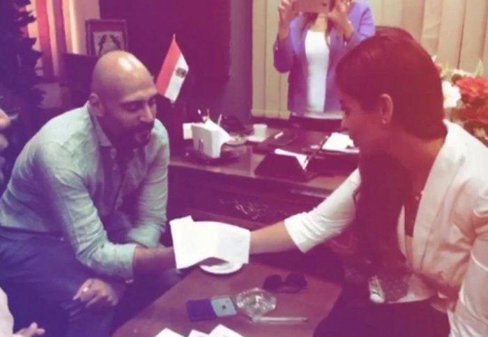 Mai Selim and Walid Fawaz Divorce