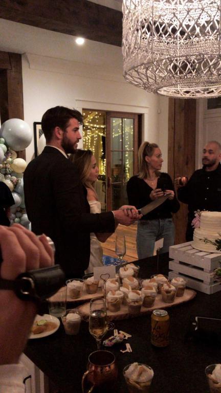 Miley Cyrus and Liam Hemsworth's Wedding