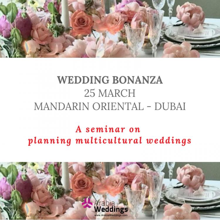 Arabia Weddings Launches WEDDING BONANZA Seminar