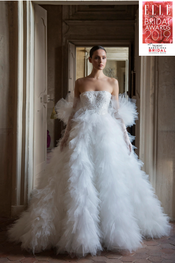 Peter Langner Wins Best Bridal Gown Award