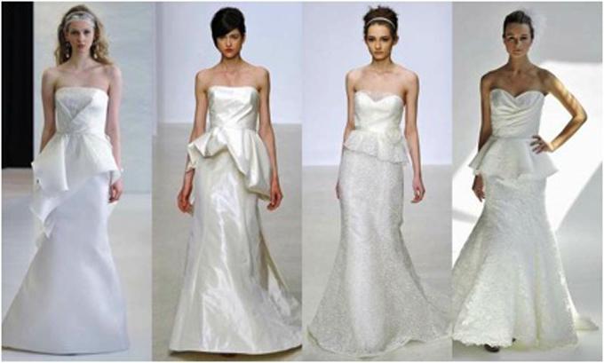 Flaunt Your Waist in a Peplum Dress