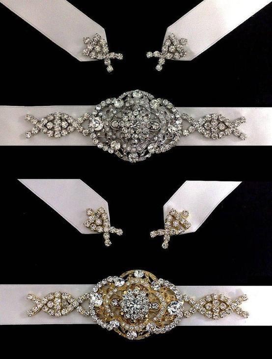Bridal Fashion Trend: The Bridal Belt