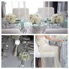 A Frosty Wedding in Silver
