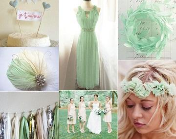 Your Wedding in Colors: A Mint Green Wedding