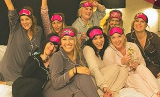 Slumber Party Bachelorette Ideas