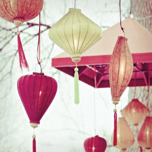 Decorate with Paper Lanterns