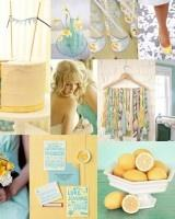 Your Wedding in Colors: Aqua and Yellow