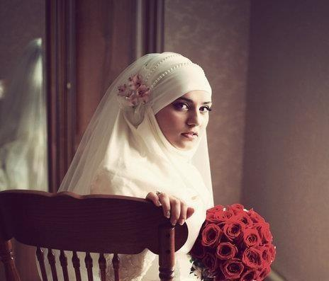 Bridal Hijabs for the Trendy Bride