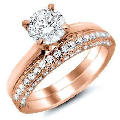 آخر صرعات المجوهرات للعروس: الذهب الوردي