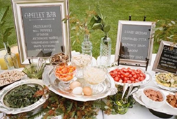 Wedding Catering Trend: DIY Food Stations