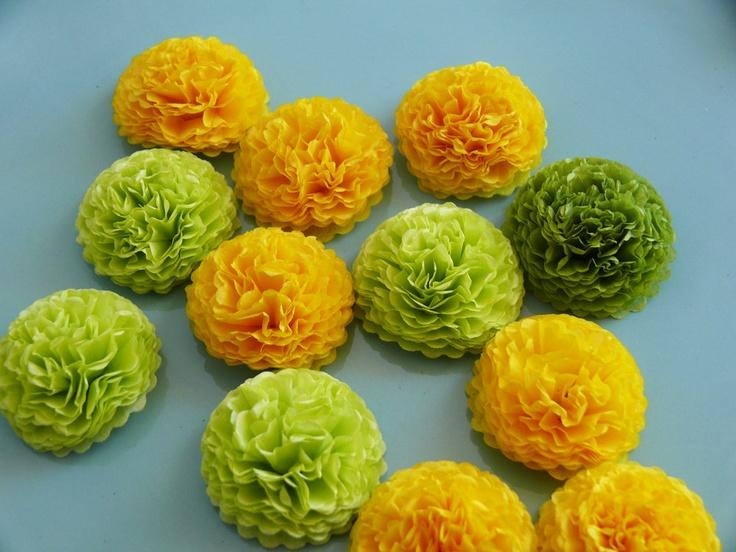Your Wedding in Colors: Lime Green and Yellow