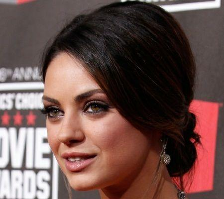 Your Bridal Beauty Inspiration: Mila Kunis