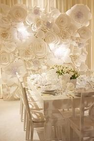 Your Wedding in Colors: An All White Wedding