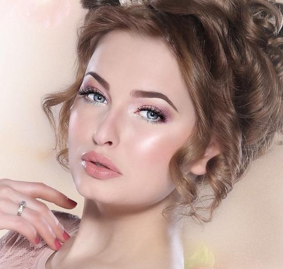 The Best Khaliji Makeup Look for Brides by Warda Al Sowimel