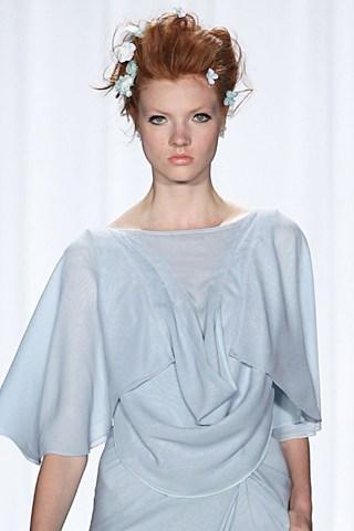 Zac Posen's Floral Fantasy Bridal Hair Inspiration