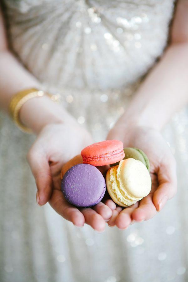 A Macaroon Wedding Theme
