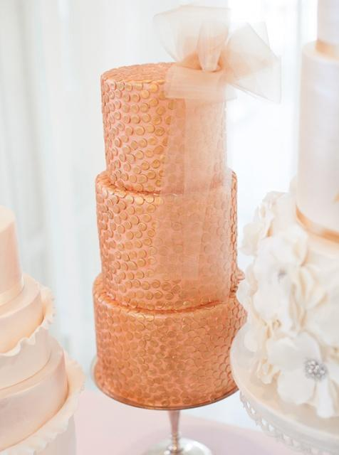 Your Wedding in Colors: Copper and Dusty Pink