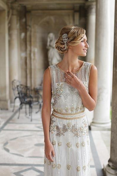 Wedding Dresses Inspired by the 20\'s - Arabia Weddings
