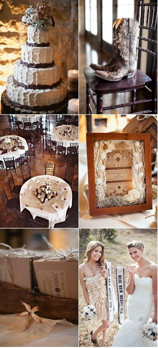A Country Wedding Theme