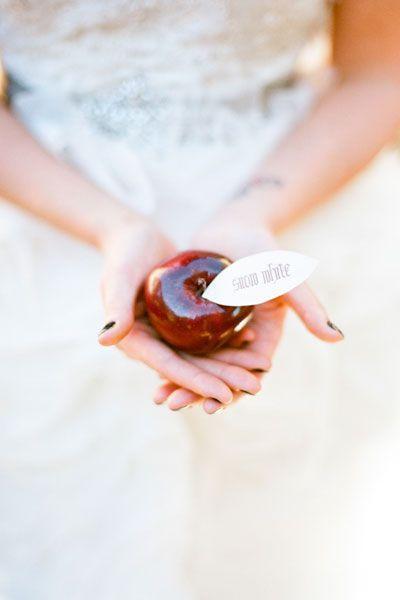 ثيم التفاح اللذيذ لحفل الزفاف