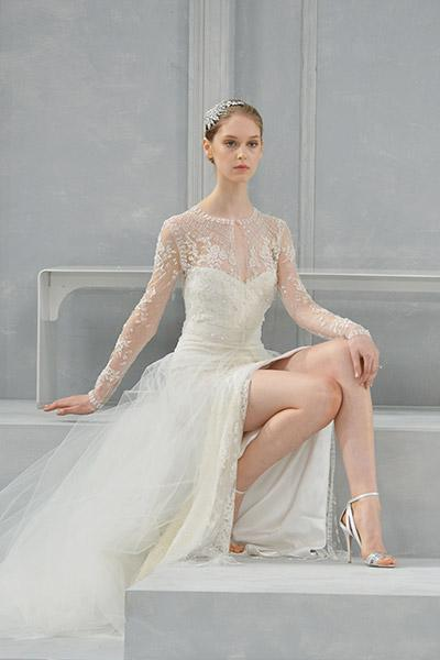 Monique Lhuillier Spring 2015 Bridal Collection