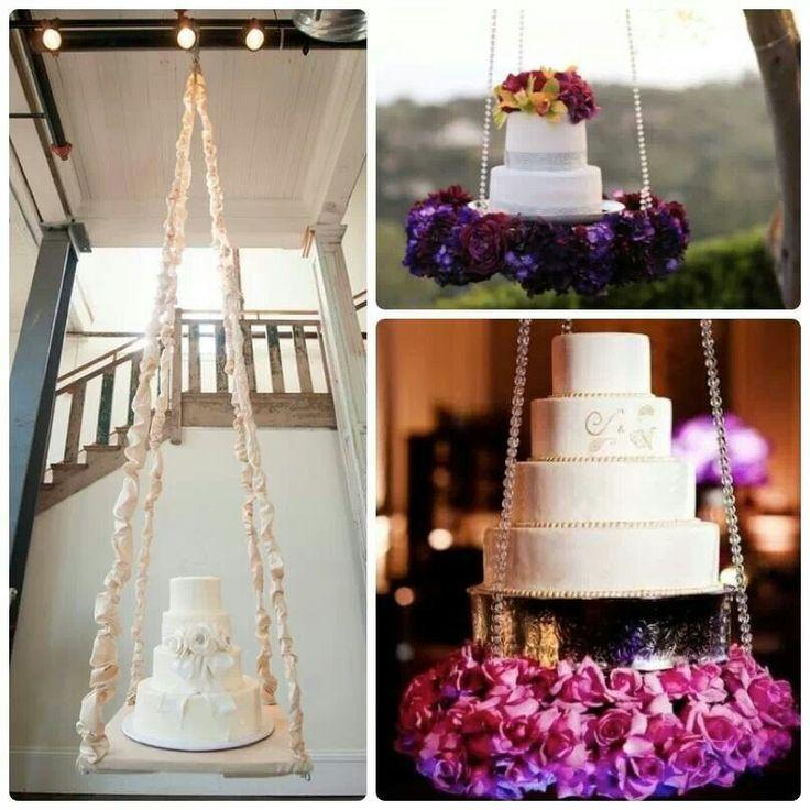 Wedding Cake Trend for 2014: Gravity-Defying Wedding Cakes