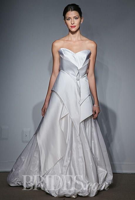 Bridal Fashion Trend: Geometric Wedding Gowns