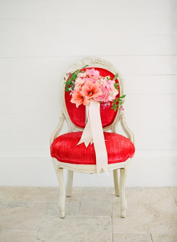 Your Wedding in Colors: Peach and Red