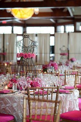A Fashion Wedding Theme