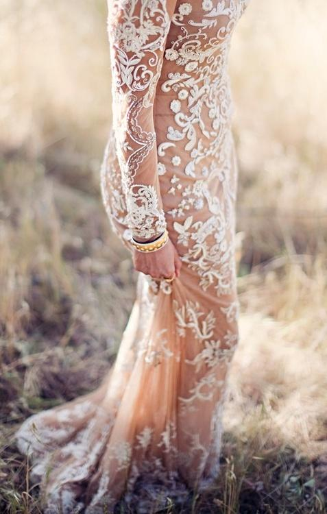 Bridal Fashion Trend: Naked Lace