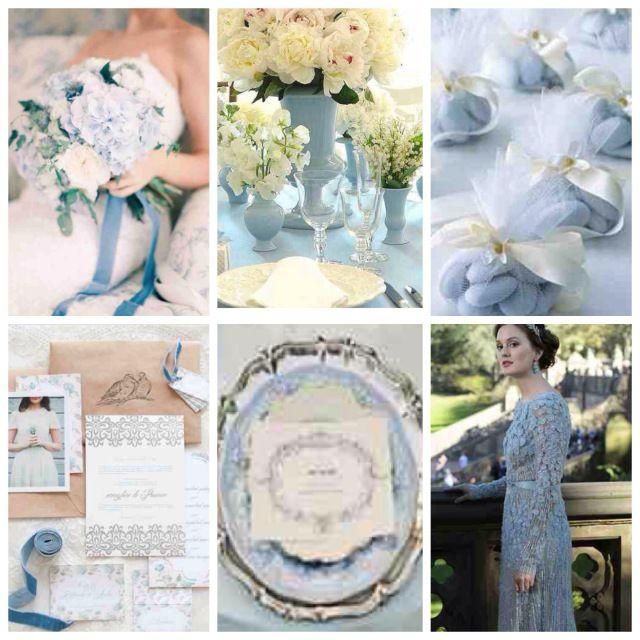 Your Wedding In Colors: Powder Blue