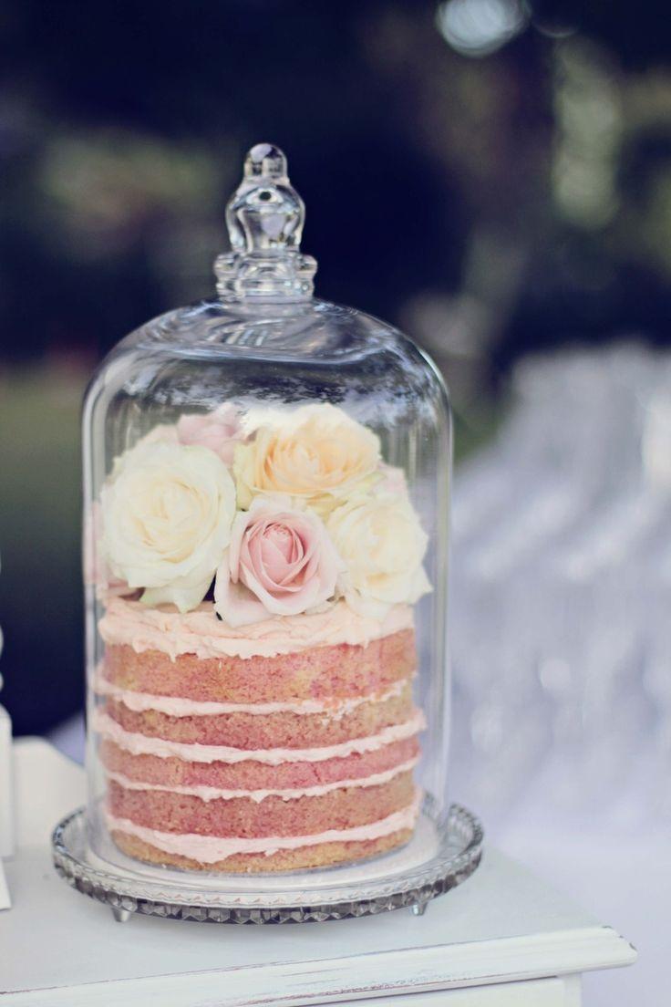 Wedding Centerpiece Alternative: Cakes!