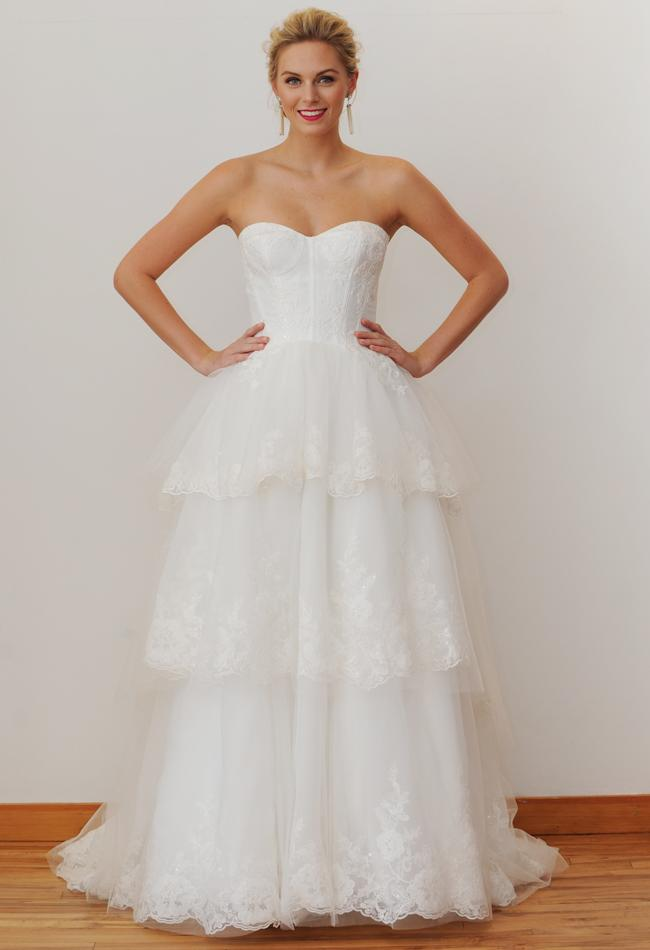 NY Bridal Market 2014: David's Bridal Fall 2015