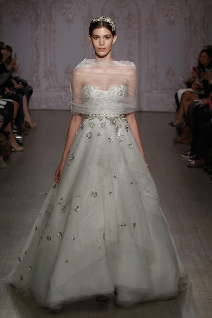 NY Bridal Market 2014: Monique Lhuillier Fall 2015