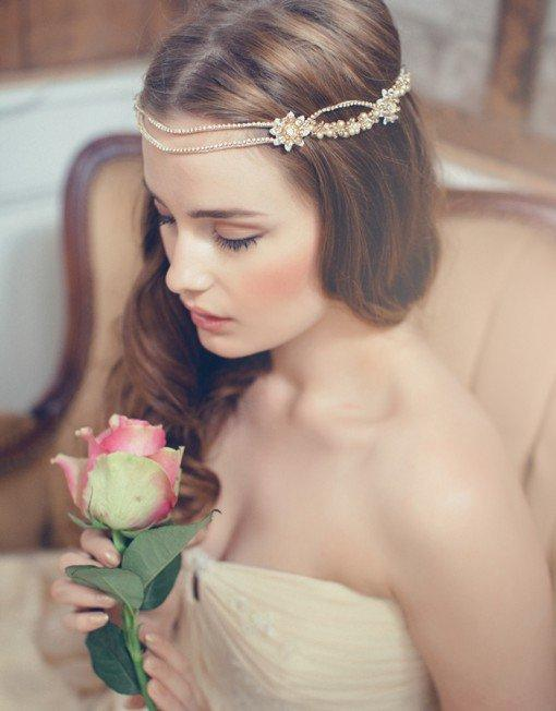 Complete Your Bridal Look with Jannie Baltzer's Wedding Headpieces