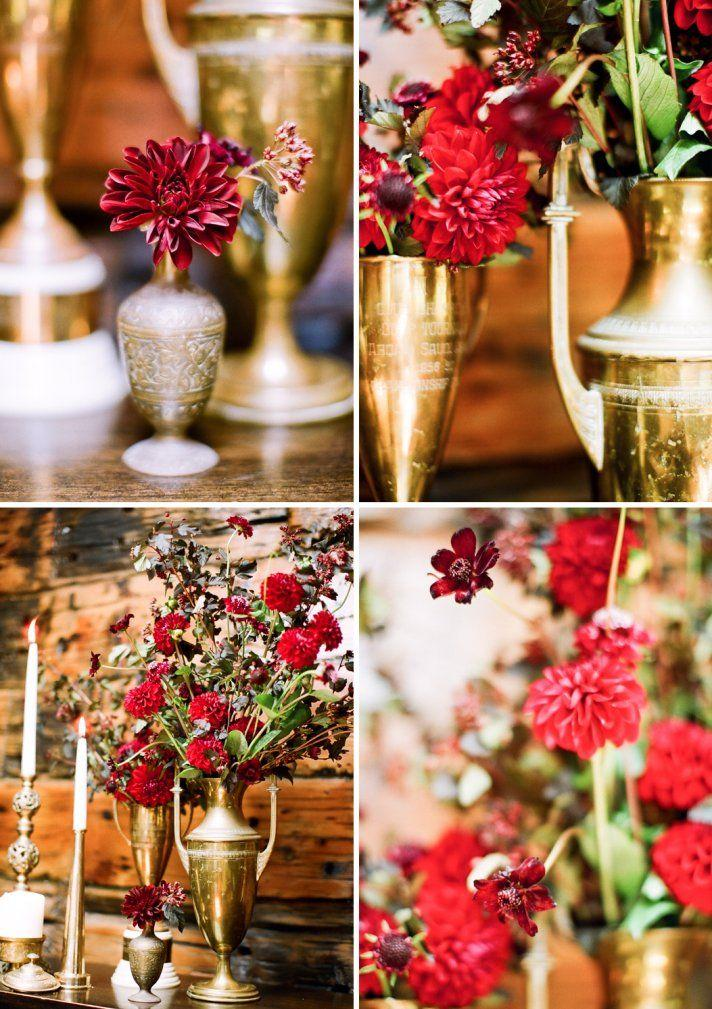 Your Wedding in Colors: Burgundy and Copper