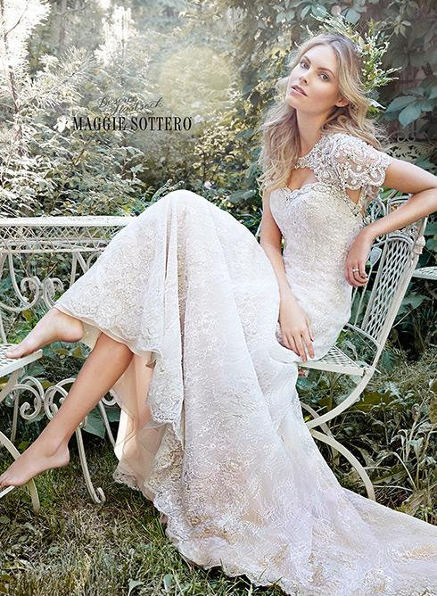 New Bridal Collection by Maggie Sottero and Desiree Hartsock