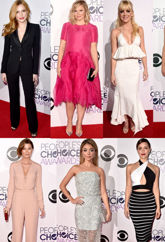 Our Favorite Looks from People's Choice Awards