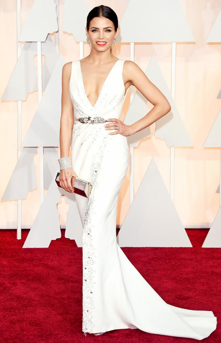 Bridal Worthy White Dresses From The Oscars 2015
