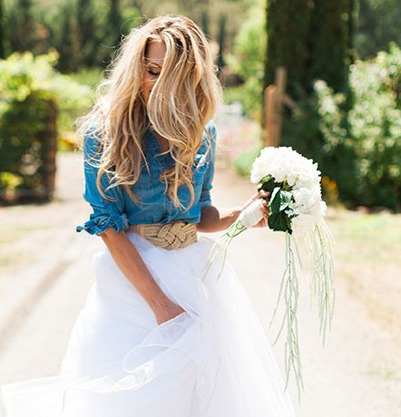 Shirts Are The Latest Bridal Fashion Trend